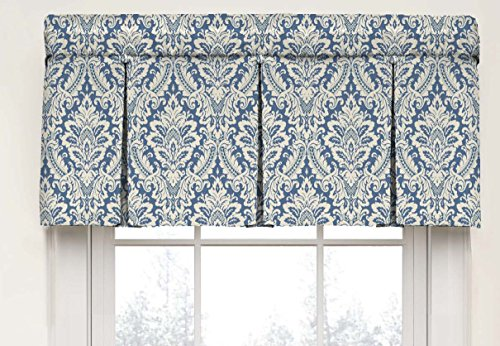 Waverly 15422052018CRF Box Pleat Window Valance, 52