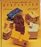 First Course in Statistics, McClave, James T., 0023785616
