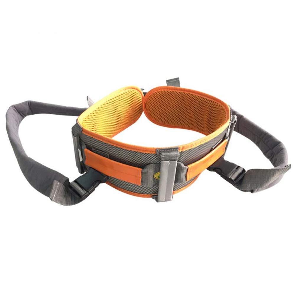 GFYWZ Elderly Shift Belt, Adult Learning Walking Shatter-Resistant Mobile Belt, Wheelchair Shift Seat Belt, Nursing Security Adjustable Restraint Band,M by GFYWZ