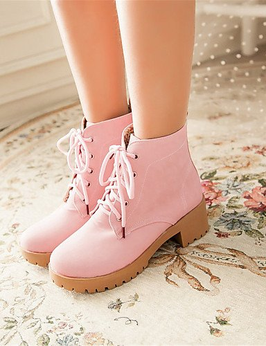 Cn40 Eu39 5 Athletic Spring Shoes Xzz Uk6 Winter 5 Casual Fall Leatherette us8 Wedding Women's Boots Dress Fleece Pink Fashion HfnqRpw