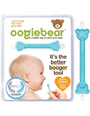 oogiebear - Patented Nose and Ear Gadget. Safe, Easy Nasal Booger and Ear Cleaner for Newborns and Infants. Dual Earwax and Snot Remover. Aspirator Alternative