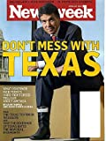 Newsweek April 26 2010 Texas Governor Rick Perry on Cover, Catherine Keener, Al Pacino/You Don't Know Jack (Kevorkian), Alexis de Toqueville, Yann Martel/Beatrice and Virgil