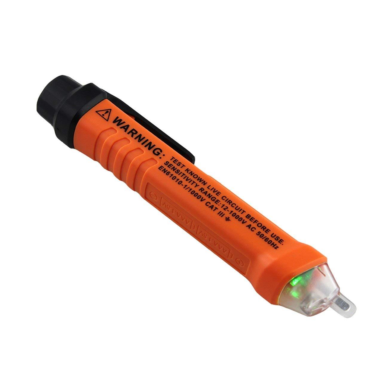 Redstrong Stylo d'essai de détecteur de Tension, ANENG Professional VD801 Stylo d'essai de Test d'induction sans Contact, détecteur de Tension Alternative Multifonctionnel, Outil de Stylo