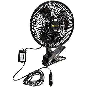 Hopkins SP570804 Go Gear 12 Volt Oscillating Fan