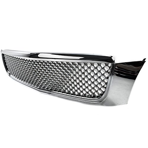 Polished Chrome 3D Mesh Grille