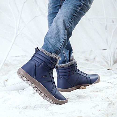 6f8c1a507c6 cheap Gracosy Women s Outdoor Waterproof Winter Boots - appleshack ...