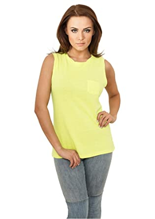 e6c62d6470789 Débardeur Top Long pour Femme Tshirts sans maches Urban Classics ...