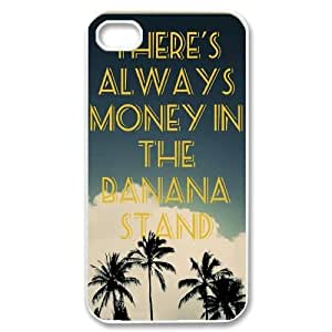 Custom Colorful Case for iPhone 5 5s, There's Always Money in the Banana Stand Cover Case - HL- 5 5s2910