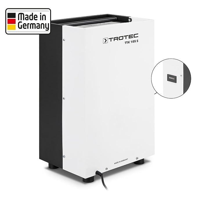 TROTEC Deshumidificador TTK 105 S (máx.: 30 Litros/24h) + contador binario incluido: Amazon.es: Bricolaje y herramientas