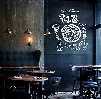 Aha Yo-Le Secret Pizzeria Cafe, Peints À La Main, Tableau, Fenêtre ...