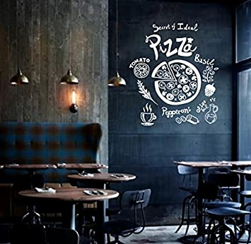Aha Yo-Das Geheimnis Der Pizzeria Café, Handbemalte Tafel, Fenster ...
