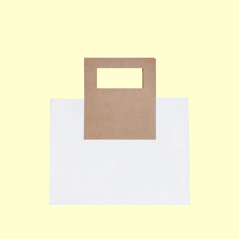 Perfect for Gift Bags 10pcs Distingu/é Bag 11.8X4.7X9 Premium Square Kraft Handles Bag Party Bags Wedding Gift Bags