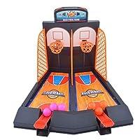 SONONIA 2セット ミニバスケットボール 家族プレー おもちゃ シュートゲーム 子供 プレゼントの商品画像
