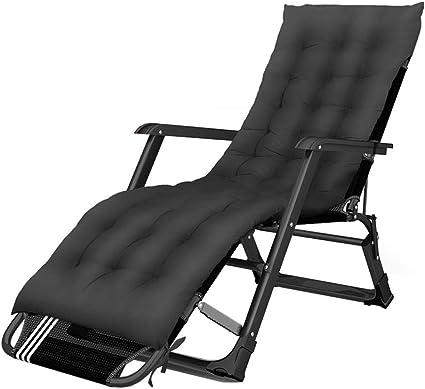 Tumbona Plegable sillón reclinable Tumbona Cama Plegable Cama ...