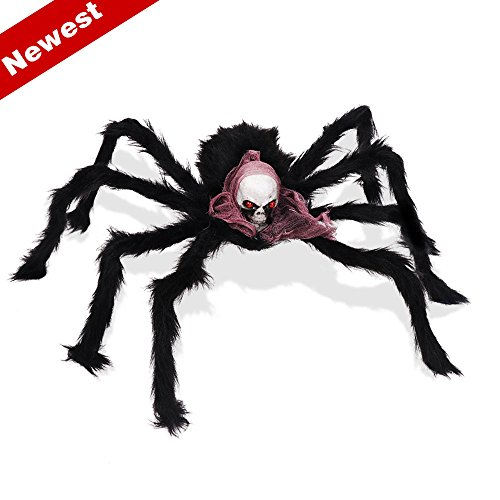 Sunba Youth Spider Halloween Decorations, 1 Piece Halloween