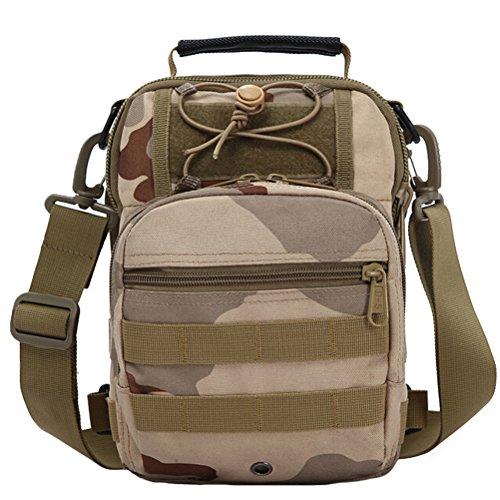 MatchLife - Bolso al hombro para hombre Camouflage4 Camouflage1