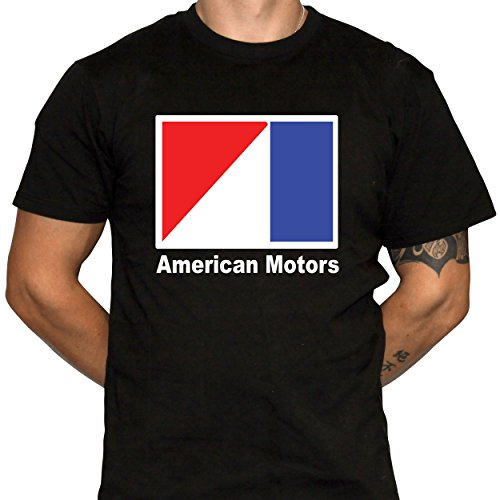 American Motors Shirt Mens Black Cotton Tshirt (Medium) for sale  Delivered anywhere in USA