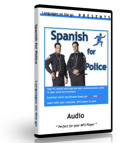 Spanish for Police Officers & Law Enforcement for PC, MAC, Ipod, MP3 -