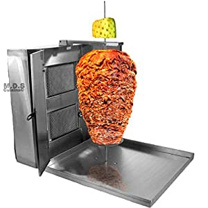 Trompo Tacos Al Pastor Authentic Stainless Machine Heavy Duty Commercial Stainless Steel