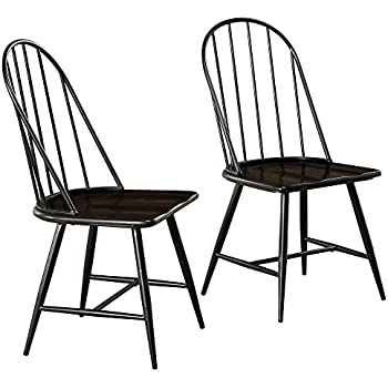 AmazoncomWinsome Wood Assembled 36Inch Windsor Chairs with