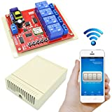 MonkeyJack 4 Channel 220V Relay Module Board Remote Switch Receiver Wifi Intelligent