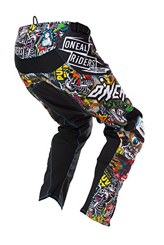 O'Neal Men's Mayhem Crank Men's Pant (Black/Multi, Size 30) by O'Neal (Image #1)