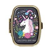 AmSun Unicorn Custom Square Medicine Pocket Wallet Travel Pill Vitamin Decoration Box Case Holder