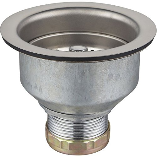 Azhara AZML18 Deep Locking Cup Basket Strainer with Zinc Nuts Stainless Steel
