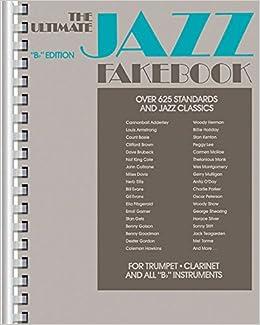 Amazon com: Ultimate Jazz Fake Book : B Flat/No 240080