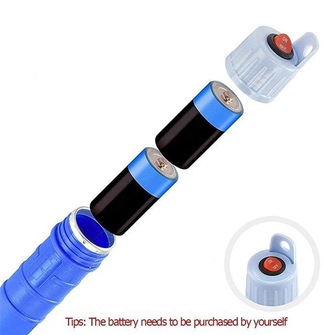 TTBB-AUTOPARTS Elektrische Wasserpumpe Fl/üssigkeitstransfer Gas/öl Sicher Siphon Batteriebetriebene Pumpen 62cm