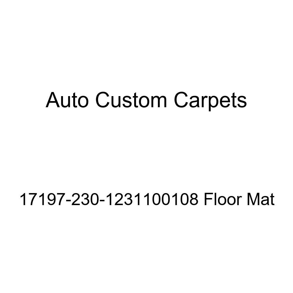 Auto Custom Carpets 17197-230-1231100108 Floor Mat Floor Mats & Cargo Liners Floor Mats