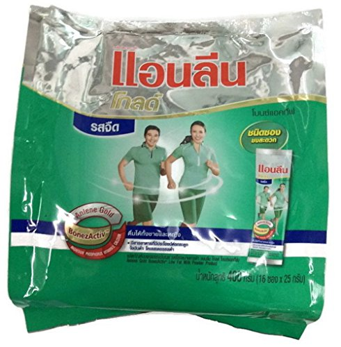 Anlene Gold Low Fat Milk Milk Powder 16 Sachets X 25g. For Adult to Elderly by Anlene