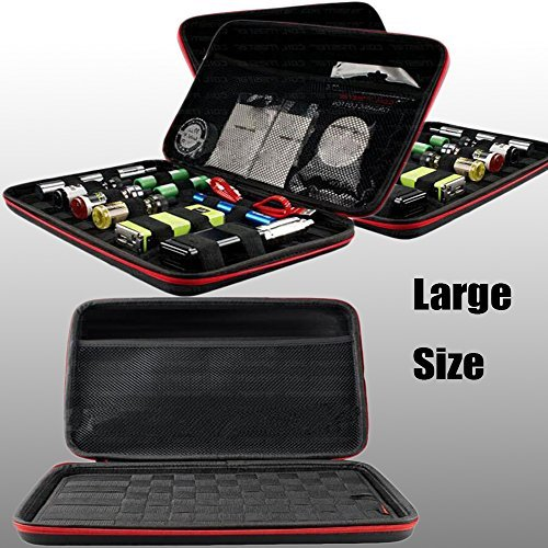 USICIG ® Multi Functional Convienent Coil Master Kbag + Vape Portable Bag for Carrying DIY Accessories , Aspire Kanger Yihai IPV Series Electronic Cigarettes ,Atomizer ,Battery and E-liquid