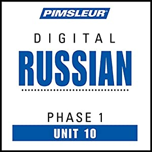 Russian Phase 1, Unit 10 Audiobook