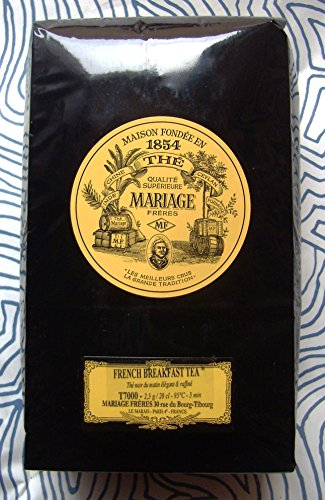 Mariage Freres - FRENCH BREAKFAST TEA (T7000) - 17.63oz / 500gr Loose Leaf BULK BAG by Unknown