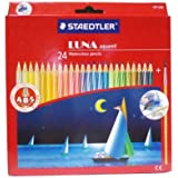 Staedtler Luna Aquarell ABS Water Color Pencils - Box of 24 colors