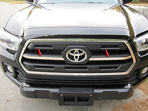 QAA FITS Tacoma 2016-2019 Toyota (2 Pc: Stainless Steel Grille Accent Trim, 2/4-door) SG16175