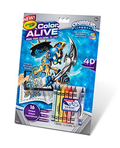 crayola color alive action coloring pages skylanders in the uae see prices reviews and buy