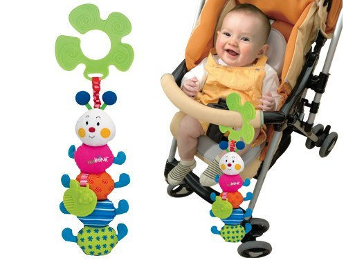 K's Kids Funky Stroller Pals - Inchworm by Ohio Art   B00844H0SO