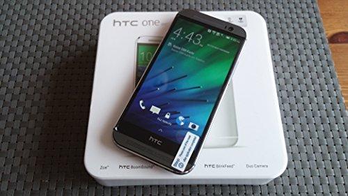 HTC One M8S Smartphone (5 Zoll LCD-Display (12,7 cm), 16 GB interner Speicher, 2 GB RAM, 13 Megapixel-Kamera, Android 5.0) Metalisches Grau