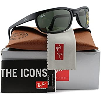 0bbb112b3d Ray-Ban RB2027 Predator 2 Sunglasses Matte Black w Crystal Green (W1847)