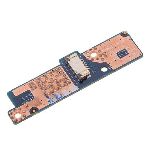 non-brand Baoblaze Botón De Encendido del Ordenador Portátil Reparación del Interruptor De La Placa para Lenovo G555 Series P/N LS-5971P: Amazon.es: ...