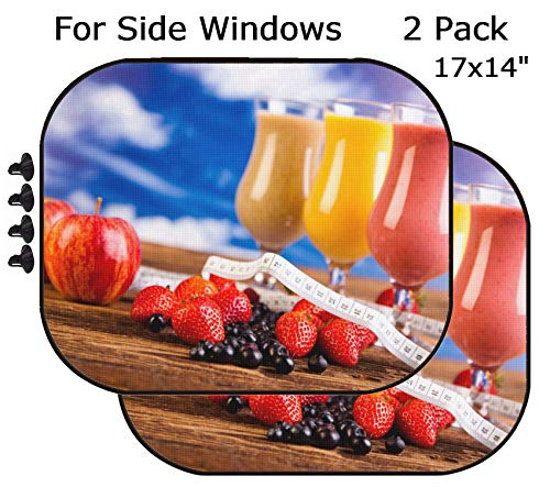 MSD Car Sun Shade - Side Window Sunshade Universal Fit 2 Pack - Block Sun Glare, UV and Heat for Baby and Pet - Image ID 35419011 Protein Shakes Sport and Fitness