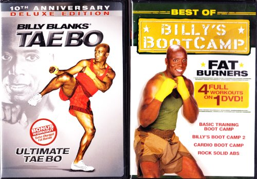 Tae Bo : Deluxe Edition Ultimate Tae Bo with Bonus Workout : Turbo Charged Fat Burner , Billy