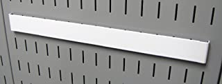 product image for Wall Control Pegboard 14in Accessory Hanger Tool Holder Bracket Pegboard Accessory for Wall Control Pegboard and Slotted Tool Board – White