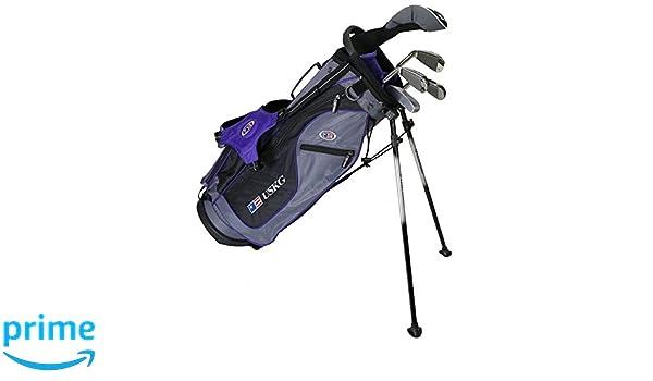 US kids Golf UL 54 Set Bolsa de Palos, Unisex niños, Morado ...