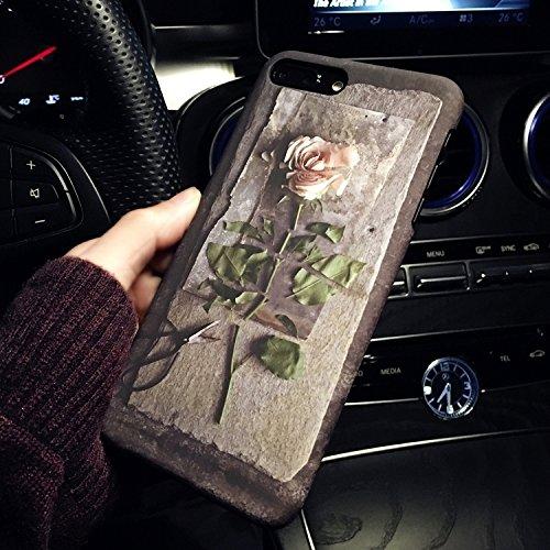 MXNET Iphone 7 Plus Fall, Rosen-Muster bereifter schützender rückseitiger Abdeckungs-Fall CASE FÜR IPHONE 7 PLUS