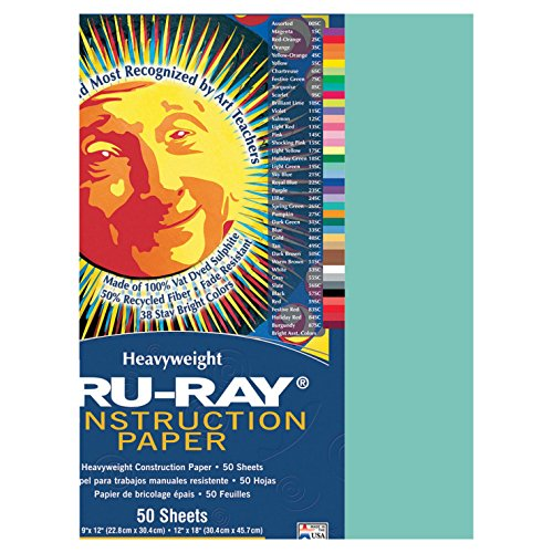 Pacon PAC103015 Tru-Ray Construction Paper, 9