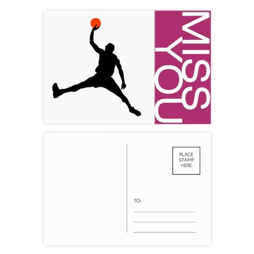 DIYthinker Mate de baloncesto Baloncesto Correr señorita tarjetas ...