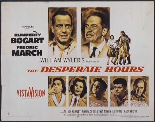 Amazon.com: The Desperate Hours Movie Poster (22 x 28 Inches ...